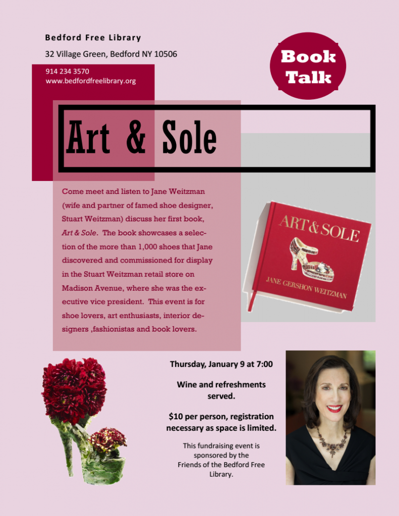Jane WEitzman_Art and Sole Event