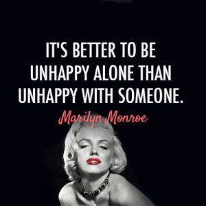 un happy-alone