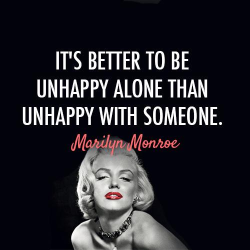 un happy-alone