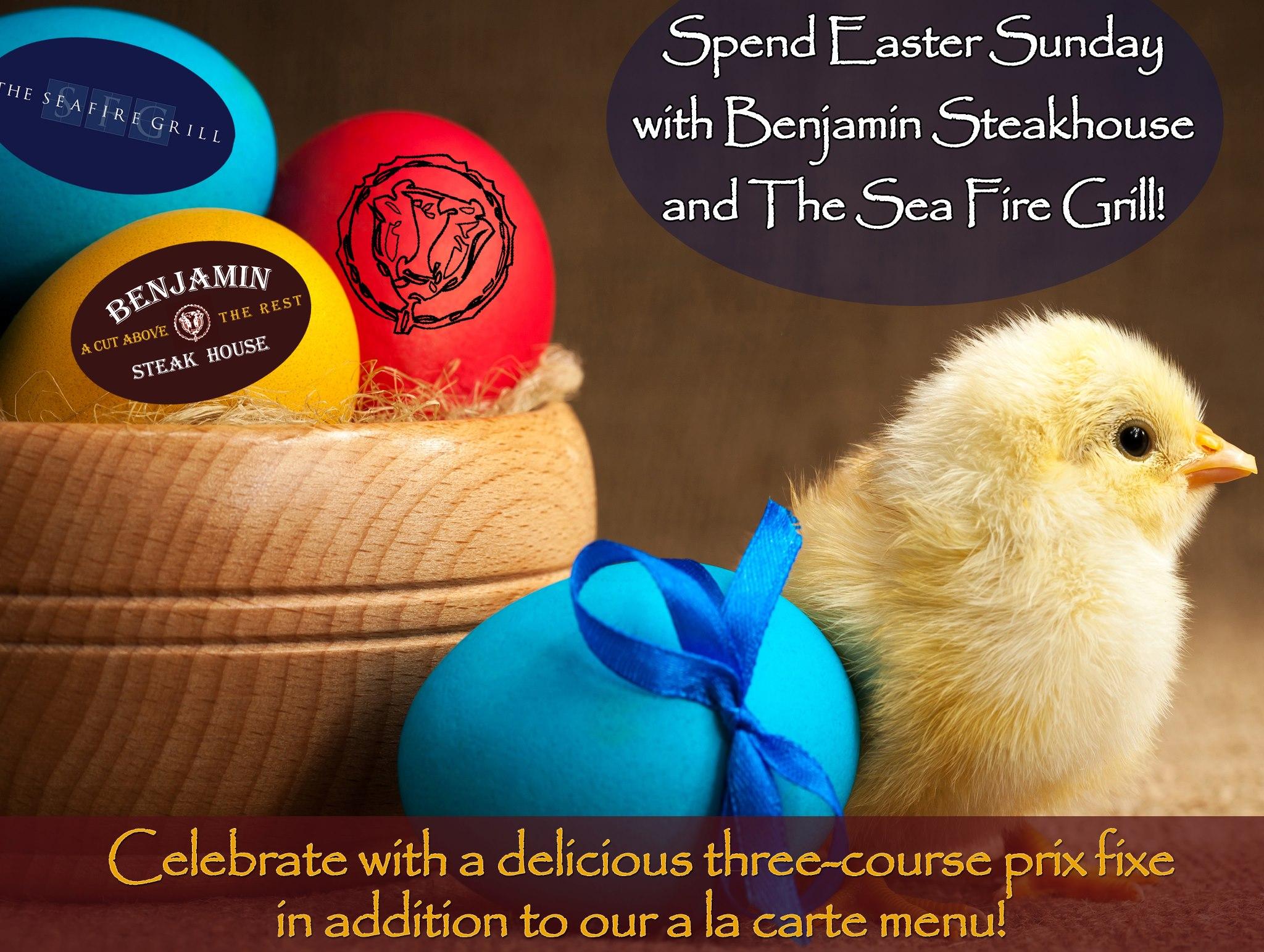 Easter at Benjamin Steakhouse