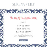 Shop the Sale of the Summer from Serena & Lily!