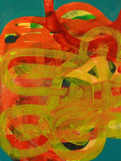 In Tangle by James Vanderberg. 2013, Oil on Panel