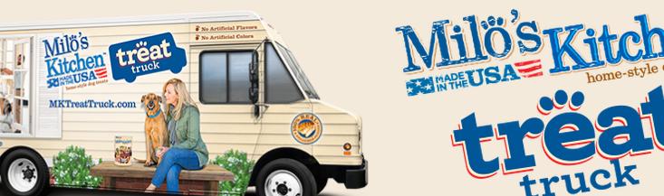 milos  treat truck