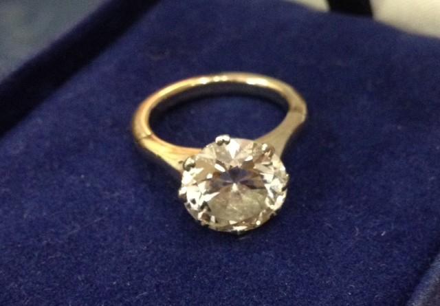 Benefit Shop Auction Diamond Ring