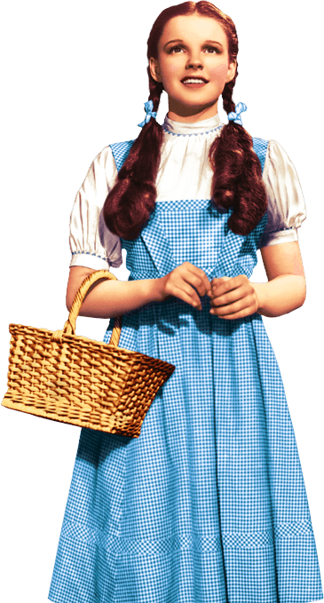 image Dorothy from the wizard of oz parody