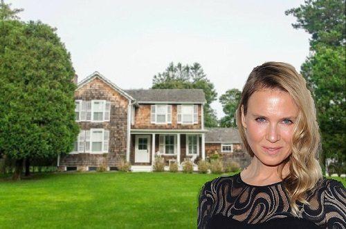 Renée Zellweger is selling her historic East Hampton estate.