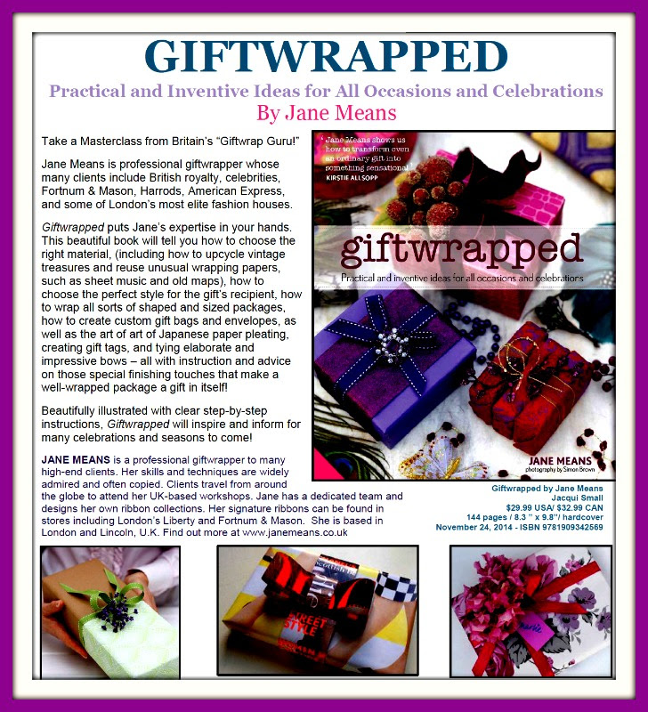 Giftwrapped!  Take a Masterclass from Britain's Giftwrap Guru