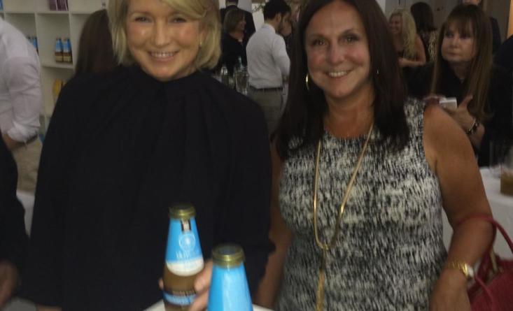 Martha Stewart at the Ulivjava launch
