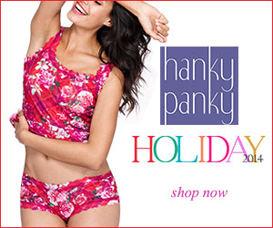 Shop Hanky Panky's 2014 Holiday Collection