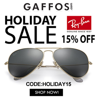 Holiday Sale - 15% OFF All Ray Ban