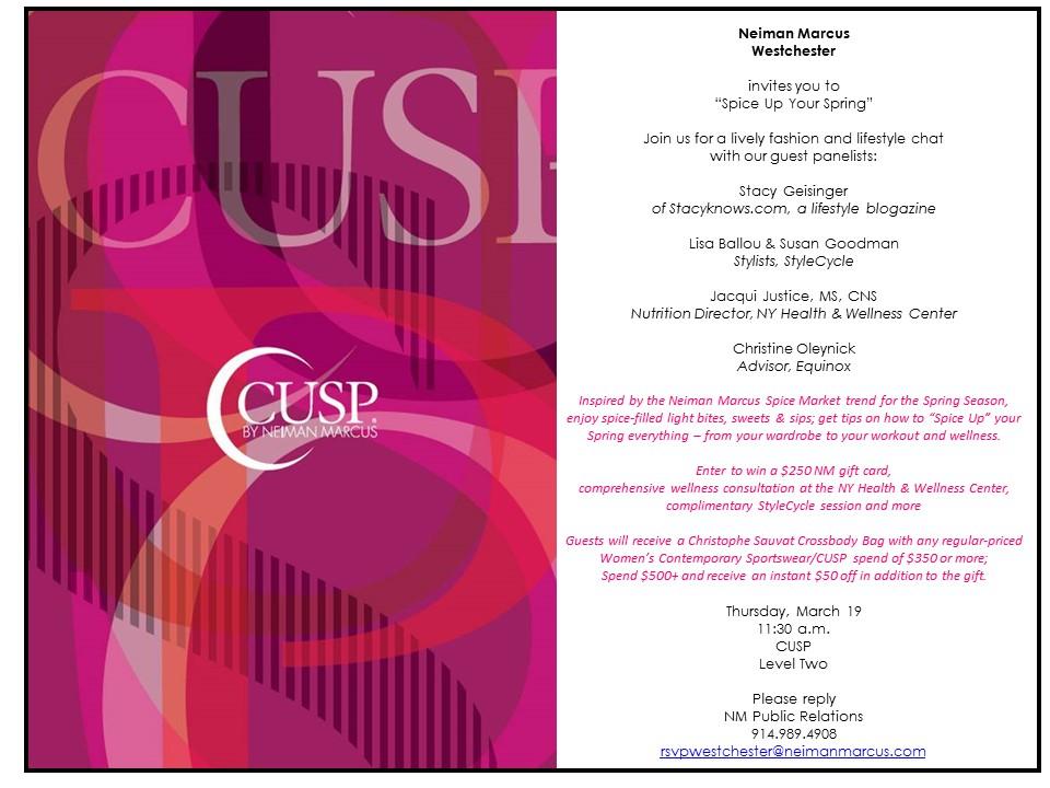 cusp event