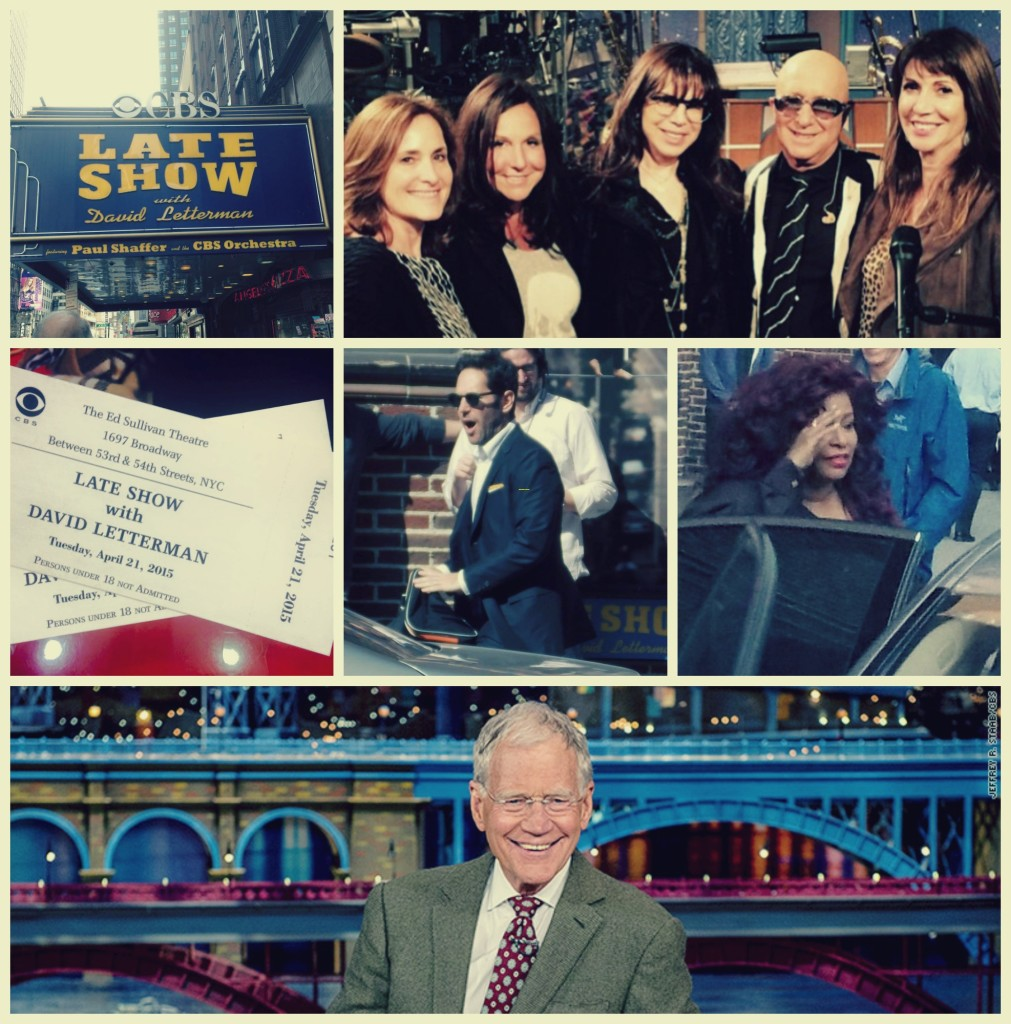 With Only 22 Shows to go The Late Show with David Letterman and the Paul Shaffer Orchestra still rocks the Ed Sullivan Theatre