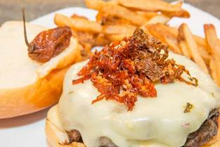 Juniper Bar Debuts the Contender For New York's Spiciest Burger
