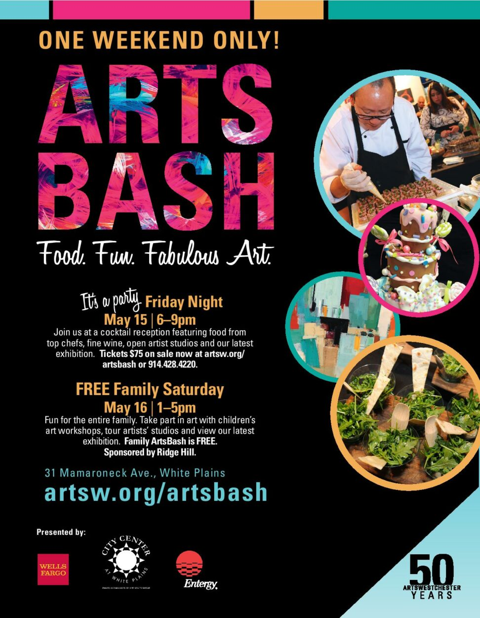 ArtsWestchester to Feature 25 Chefs To Kick-Off ARTSBASH Weekend