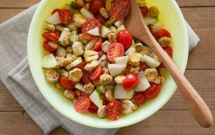Crunchy Okra Picnic Salad
