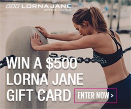 WIN A $500 LORNA JANE GIFT CARD