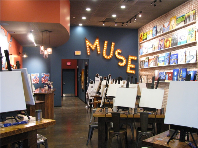 Muse paint bar west hartford coupon