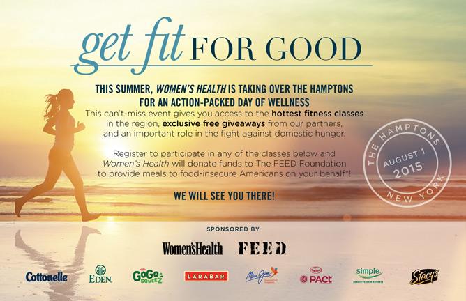 2015 Hamptons Wellness Weekend