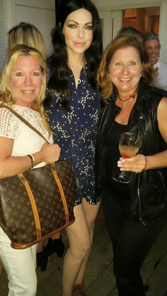 Lisa Lerner With Laura Preon OITNB and Monica Reiner