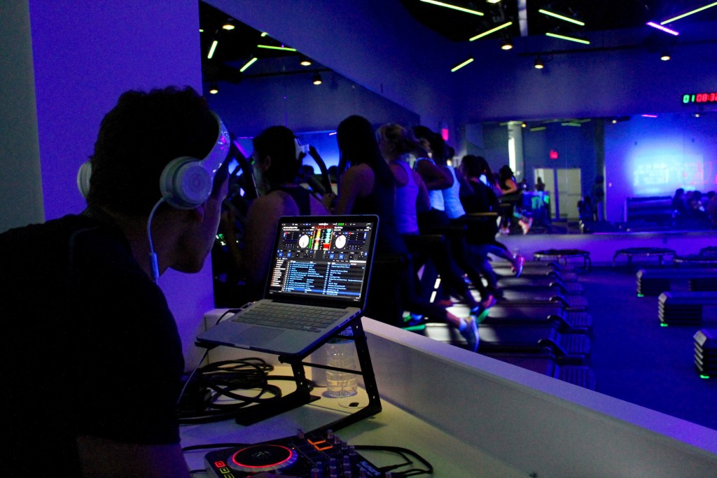 DJ at power4 fitness