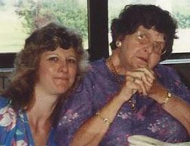 Elizabeth Koehler-Pentacoff and Rosemary Kennedy