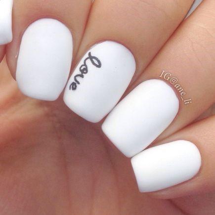 Love Fingernail Word Art