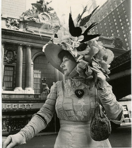 "Bill Cunningham, ""Grand Central Terminal"" (built ca. 1903-1913), ca. 1968-1976, Gelatin silver photograph, New-York Historical Society, Gift of Bill Cunningham"