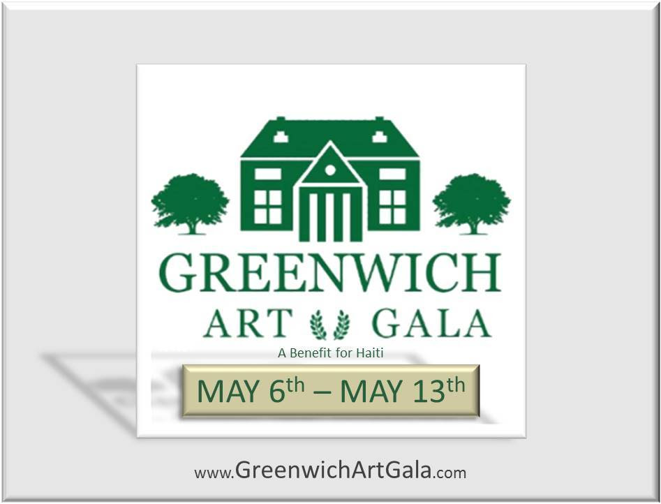 You're Invited to Greenwich Art Gala Opening Night Party 5/6