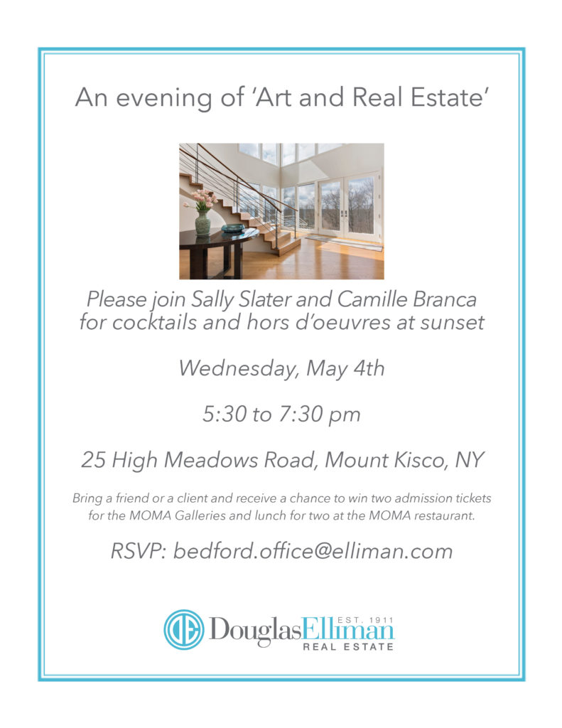 An Evening of Art and Real Estate May 4thio