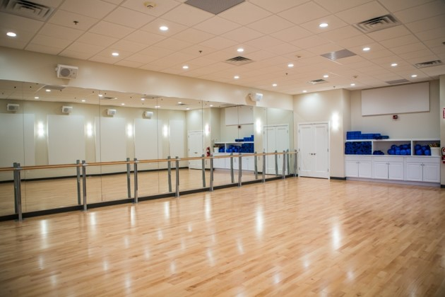 exercise studio at total fusion