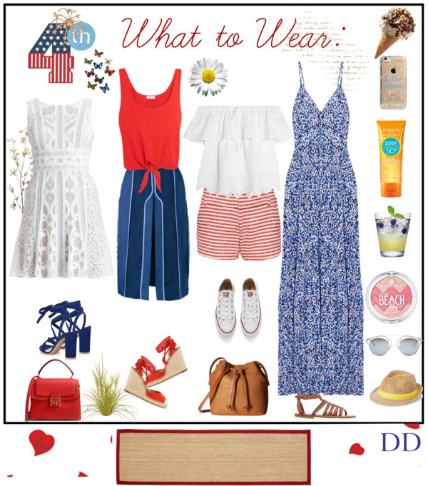DivaDebbi: What to Wear July 4th Weekend