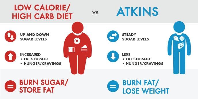 low cal vs atkins