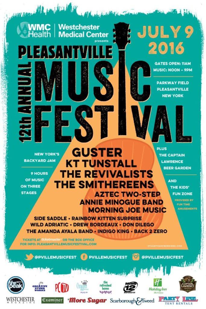 pleasantville music festivasl