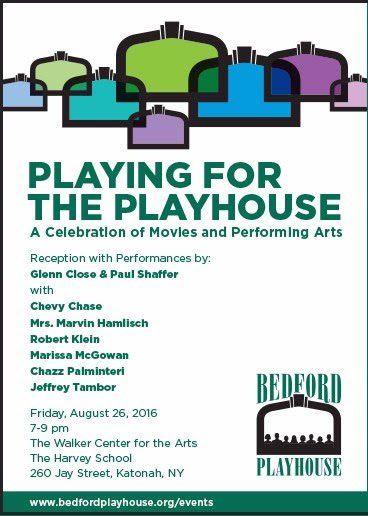 Playing for the Playhouse – a benefit for the Bedford Playhouse