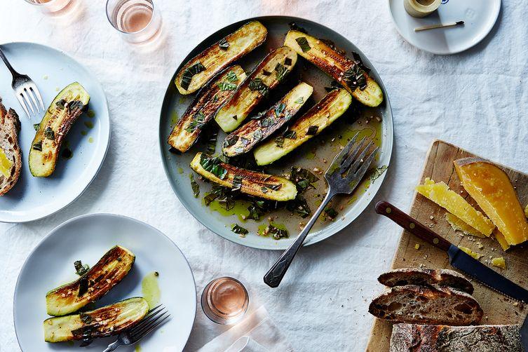 Love Zucchini Try it Marinated
