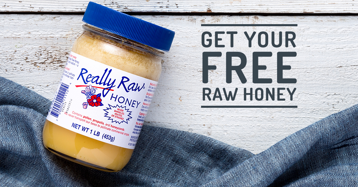 Try The Best-Tasting Raw Honey—Completely FREE