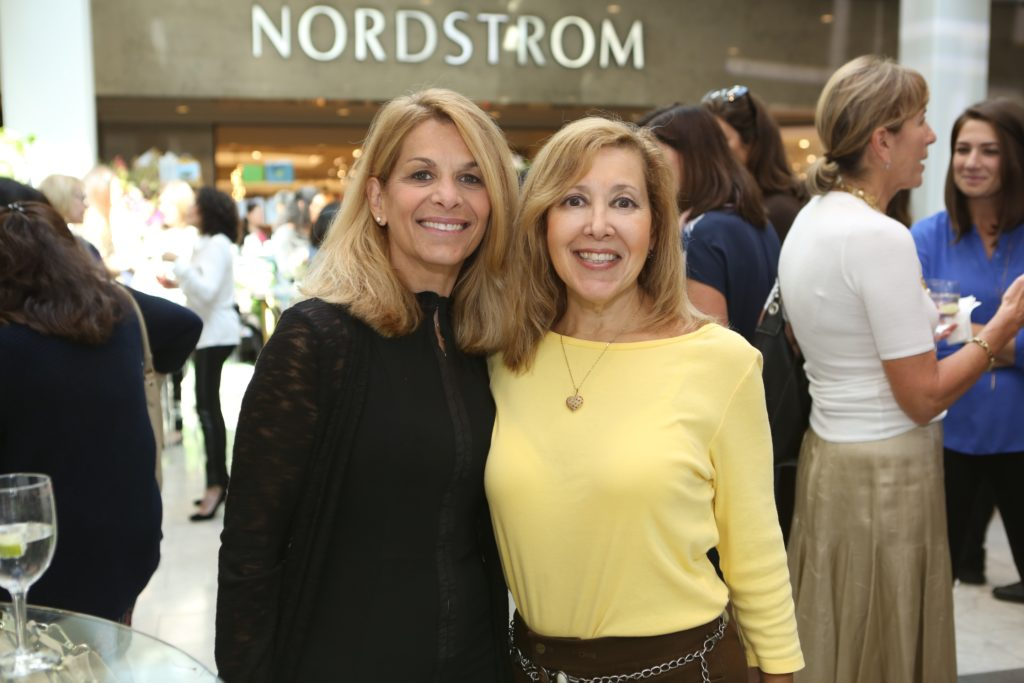 Pediatric Cancer Foundation Fall Fashion Show at The Westchester Simon Mall  Event guests Lorena Lombardi and Irene Wallace