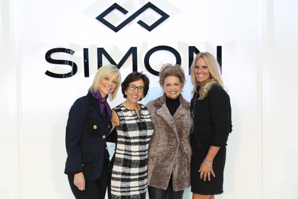 Pediatric Cancer Foundation Fall Fashion Show at The Westchester Simon Mall From left: Avril Graham, Harper's BAZAAR Executive Fashion & Beauty Editor; Bonnie Shyer, President of the Pediatric Cancer Foundation; Paula Kelliher, Director of Marketing at The Westchester; and Coco Lefkowitz, member of the Pediatric Cancer Foundation Board of Directors.