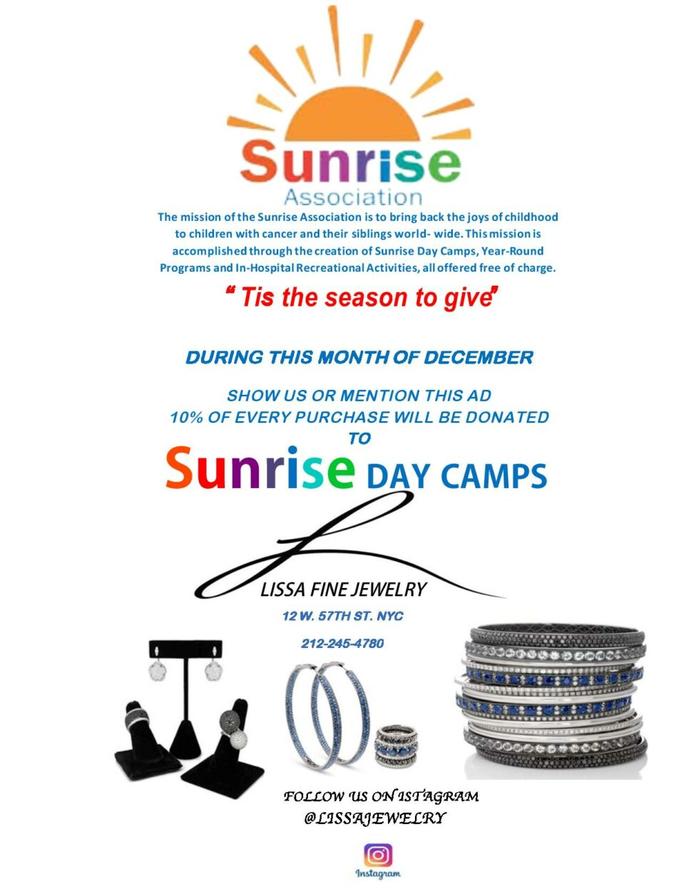 Help Support Friends of Sunrise Day Camps