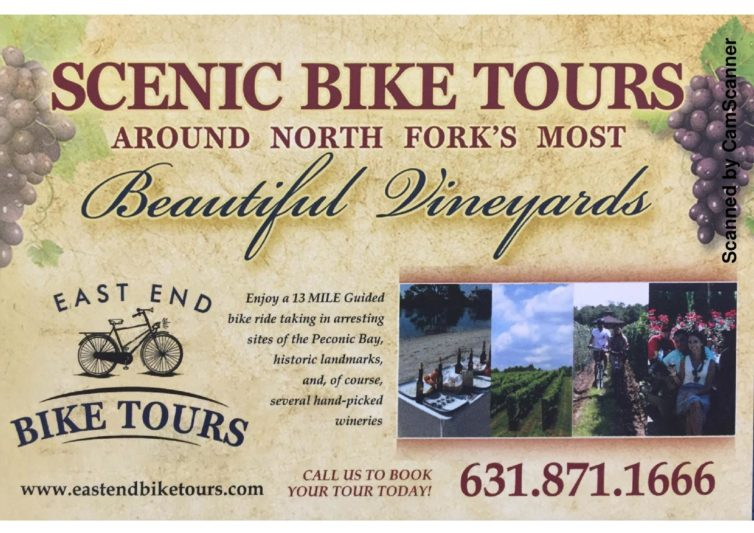 Uncork an adventure with East End Bike Tours