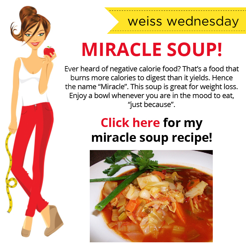 Miracle Soup Courtesy of The Skinny Jeans Diet