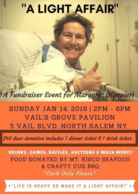A Fundraiser Event for Margaret Olimpieri