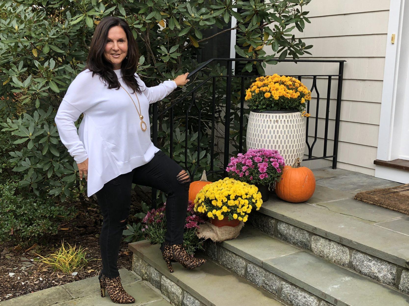 Lumi sweater in white