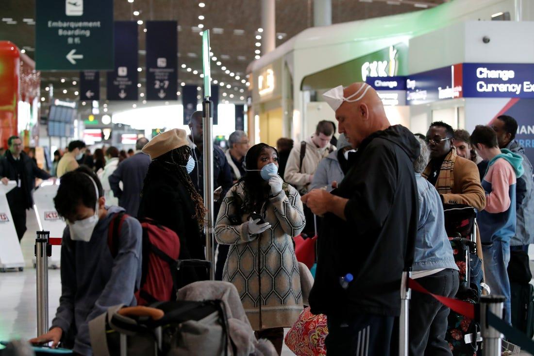 Trump's coronavirus travel ban disrupts weddings, vacations ...