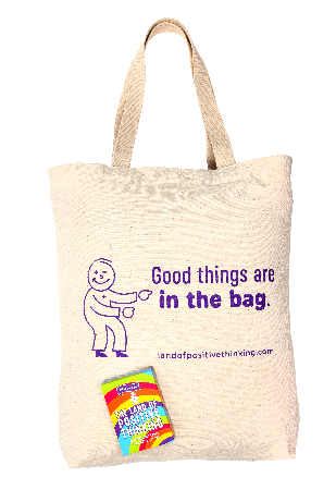 A bag with a graphic design on it  Description automatically generated with medium confidence